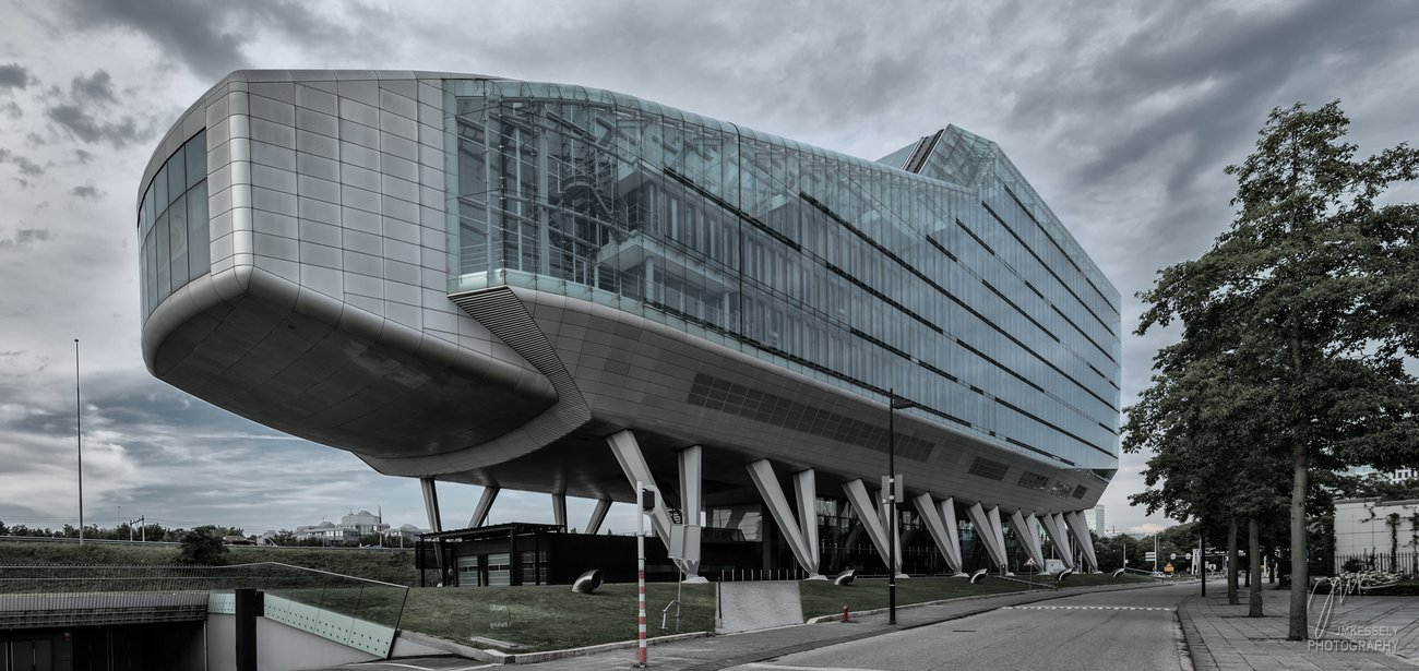Modern office building Amsterdam