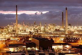 Petrochemical industry Rotterdam