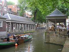 Ancient fishmarketplace Gouda