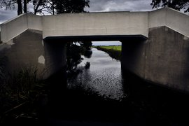Ditch bridge Oudega