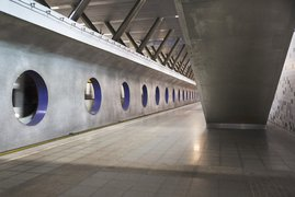 Subway station Rotterdam
