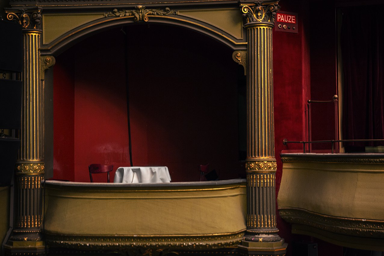 Theater balcony Maastricht
